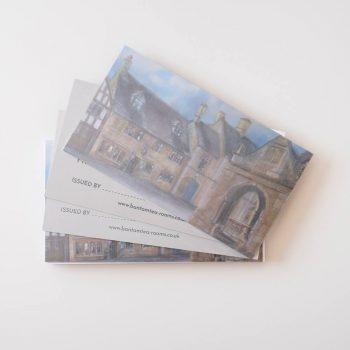 Bantam Gift Card Mockup